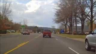 Driving in Russellville Arkansas