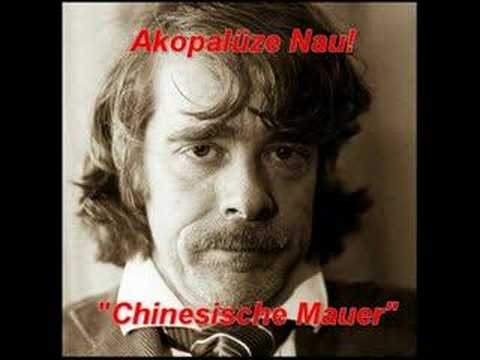 Chinesische Mauer - Helge Schneider - Akopalüze Nau!