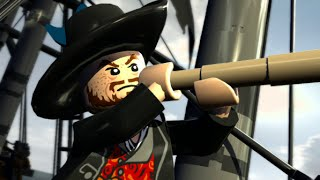 LEGO Pirates of the Caribbean Walkthrough Part 3 - The Black Pearl Attacks