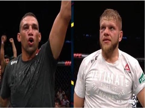 UFC Fight Night Sydney Recap/Results - Fabricio Werdum Outstrikes Marcin Tybura in 5 Round Thriller