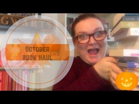 October Book Haul   Lauren and the Books