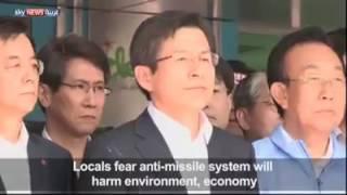 شاهد.. محتجون يلقون بالبيض والمياه على رئيس وزراء كوريا الجنوبية