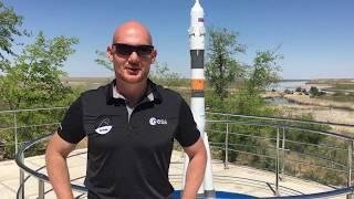 Alexander Gerst kurz vor dem Start zur ISS aus Baikonur - Mission Horizons