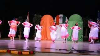 FIA Tampa - India Independence Day 2015 - Bengali group Kids Presents -Nao Charaiya Re