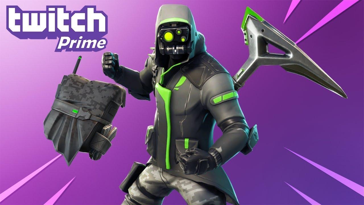 Fortnite Skin Twitch Prime 2 - Fortnite How To Earn V Bucks