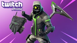 NEW TWITCH PRIME FREE SKINS in Fortnite.. (Twitch Prime Pack #3)