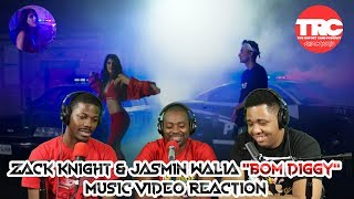 "Zack Knight & Jasmin Walia ""Bom Diggy"" Music Video Reaction"