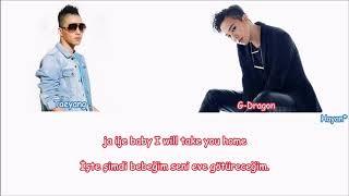 Taeyang - stay with me (feat. g-dragon) turkish sub./türkçe altyazılı [color coded]