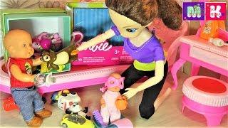 МАКС ЖАДНЮГА віддай іграшку. Катя і Макс весела сімейка. Мультики з ляльками.