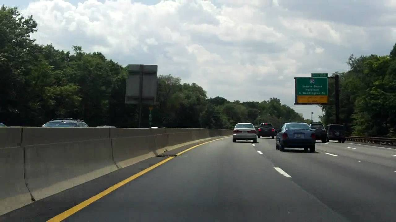 Garden State Parkway Exits 168 To 155 Southbound Youtube