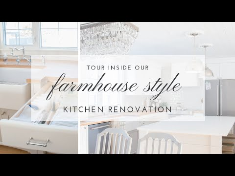 Our DIY Farmhouse Kitchen Renovation