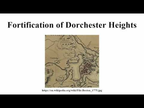 Fortification of Dorchester Heights