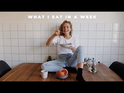 What I eat in a week ||vegan & gluten-free