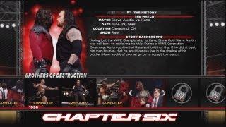 WWE'13: Attitude Era Mode - Brothers of Destruction Ep.6: Steve Austin vs. Kane