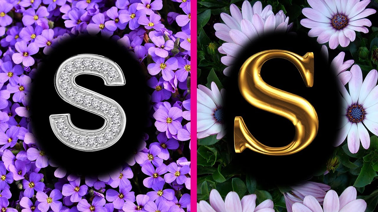 Flowers Profile Picture Wallpapers Images Letter S Dp Photos Whatsapp Status Youtube