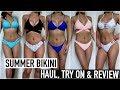 HUGE Bikini Haul, Try-On & Review   Cheap & Affordable Swimwear   Zaful
