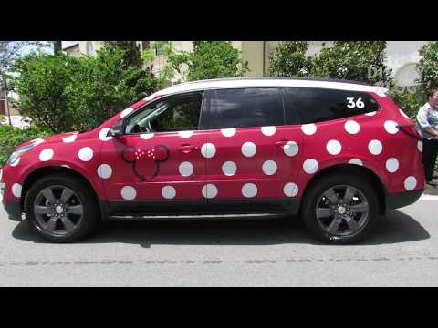Walt Disney World's new transportation option - the Minnie Van
