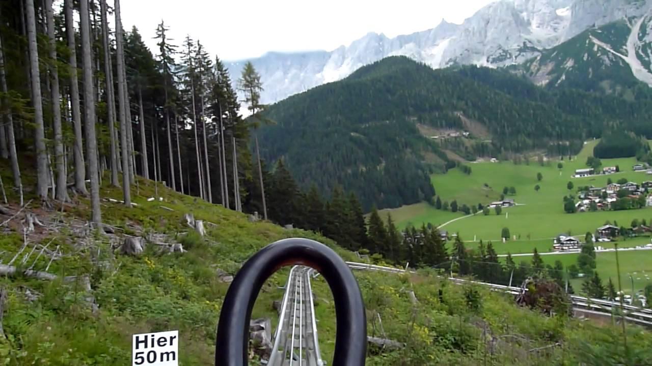 Rodelen, Rittisberg Oostenrijk 2014  (Ramsau am Dachstein)