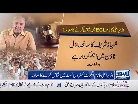 High Court approves petition for hearing to include CM Punjab's name in ECL
