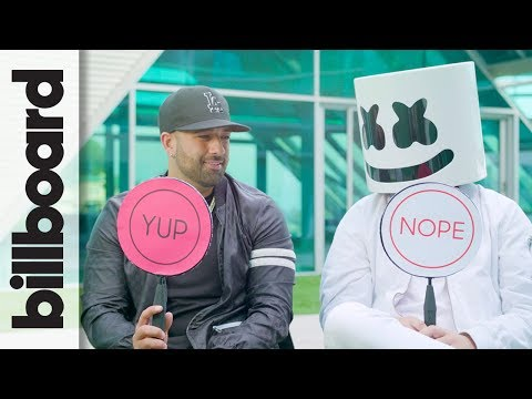 Marshmello & Moe Shalizi Play 'Never Have I Ever' | Billboard