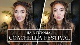 my festival inspired hair tutorial for coachella pia muehlenbeck