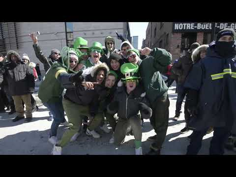 Montreal's 195th St  Patrick's Day parade