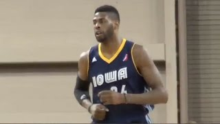 Highlights: Willie Reed (31 points) vs. the Skyforce, 2/27/2015