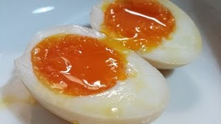 (hd) Recipe: Japanese Soft Boiled Egg  溏心蛋