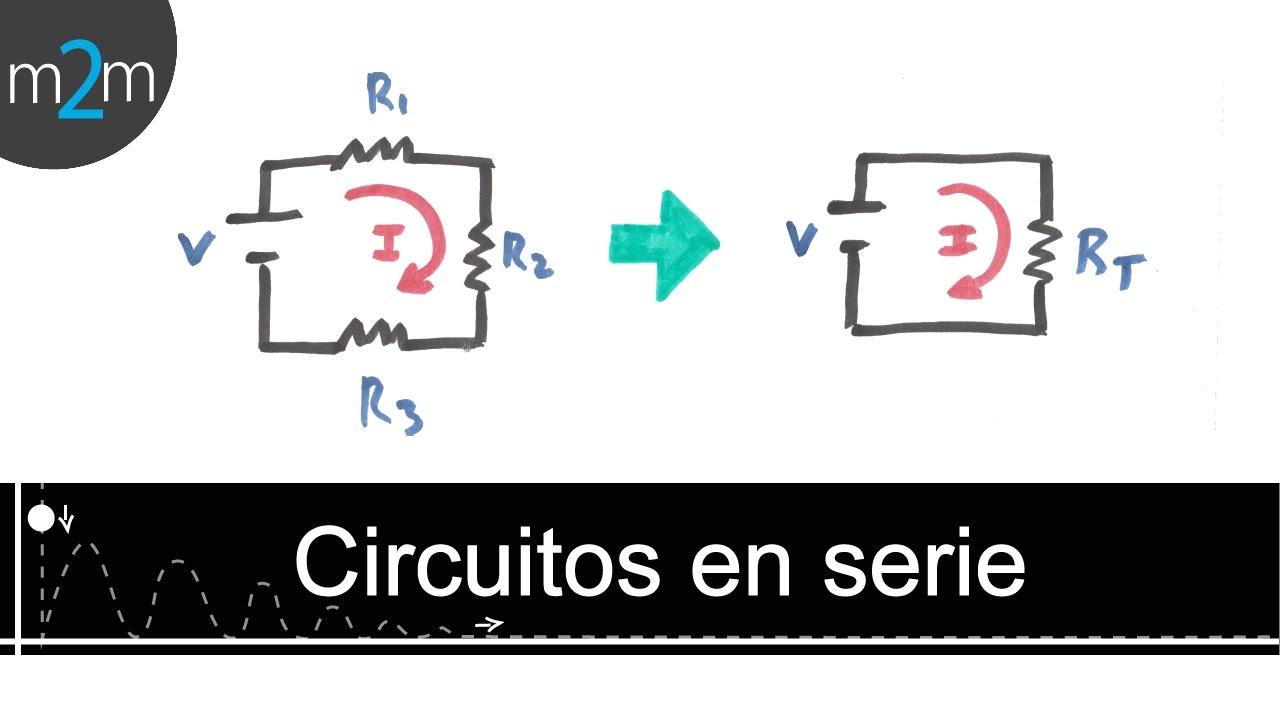 Circuito Not : Como resolver un circuito eléctrico en serie youtube