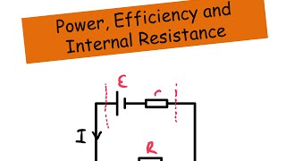 internal resistance and emf battery cell
