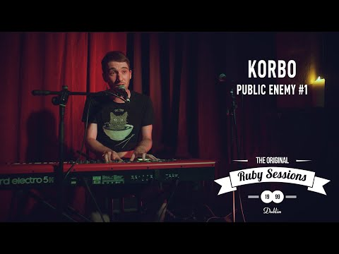 KORBO  Public Enemy 1  at The Ruby Sessions