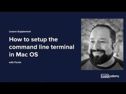 Command Line Interface Setup | Codecademy
