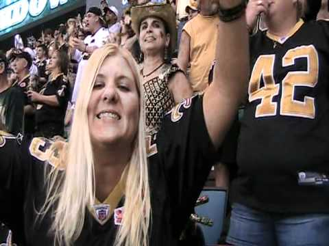 Starting The Who Dat  Say They Gonna Beat Them Saints