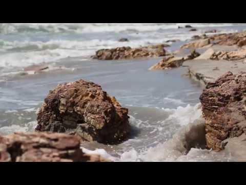 time-lapse of beach erosion