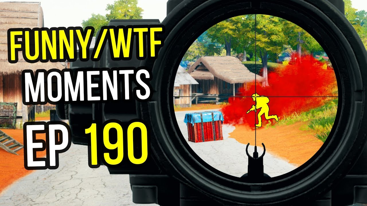 PUBG: Funny & WTF Moments Ep. 190
