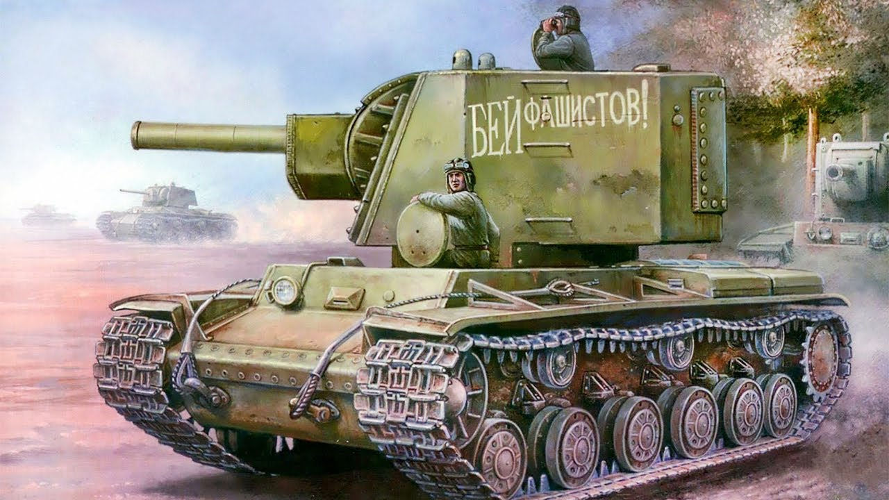СТАЛЬНОЙ МОНСТР Времен Второй Мировой. Советский танк КВ-2. Лучшие танки Второй Мировой