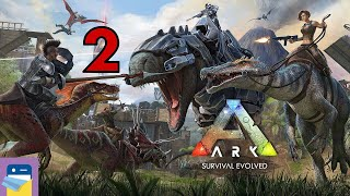 ARK: Survival Evolved - iOS / Android Gameplay Walkthrough Part 2 (by Studio Wildcard)