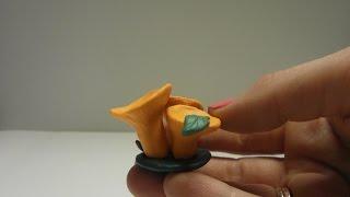 🍁 Как слепить грибы Лисички Modellling Clay Сhanterelles