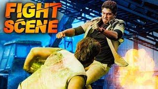 Allu Arjun VS Ravi Kishan In Action | Best Of Allu Arjun In Action | Last Fight Scene Of Race Gurram