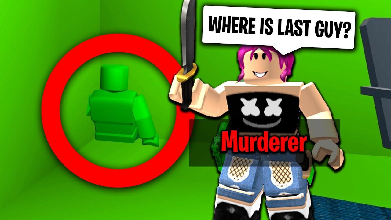 Luckiest Roblox Murder Mystery 2 Of 2020 Roblox بواسطة Ant Roblox Murder Mystery 2 Luckiest Hiding Spot Youtube