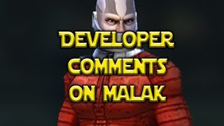 Developer Responds to Malak Controversy - Star Wars: Galaxy of Heroes - SWGoH