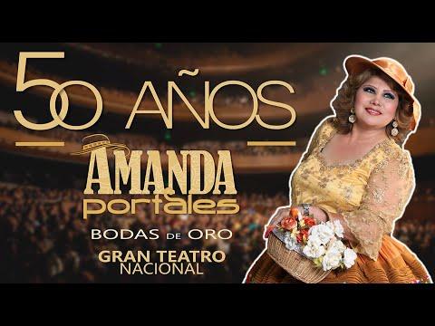 Amanda Portales Bodas de Oro en el Gran Teatro Nacional - 2015