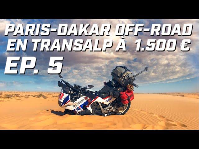 PARIS DAKAR OFF-ROAD EN TRANSALP ► EP 5 ► BANC D'ARGUIN ET LAC ROSE