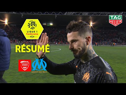 Nîmes Olympique - Olympique de Marseille ( 2-3 ) - Résumé - (NIMES - OM) / 2019-20