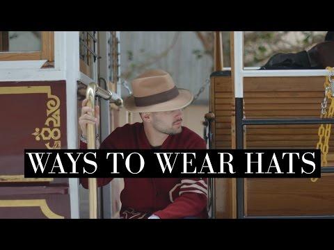 Ways To Wear Hats: Intro to Wide Brim Hats | TheGentlemansCove