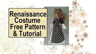 Free Renaissance Costume Sewing Patterns: Basic Dress