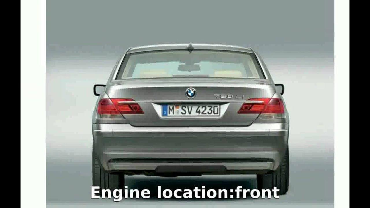 2005 BMW 750Li E66 Details