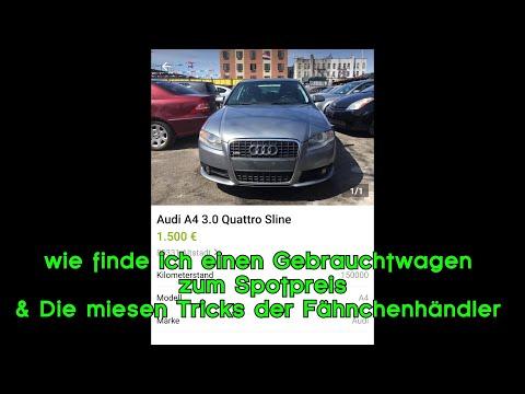 Gebrauchtwagen Zum Schnäppchenpreis? Autosuchprogramme & Die Miesen Tricks Der Fähnchenhändlermafia