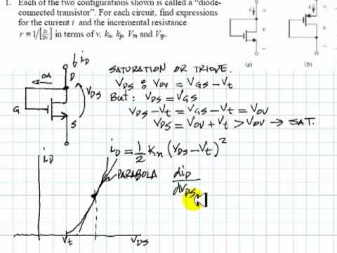 EECE 251 - Tutorial on MOSFETs Part One