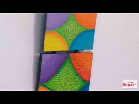 Como aplicar la tecnica de muralismo - Hogar Tv  por Juan Gonzalo Angel